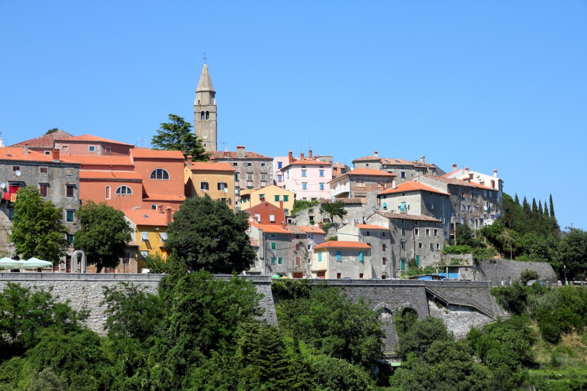 'Croatia - Labin on Istria peninsula. Typical Croatian old town.' - Istria
