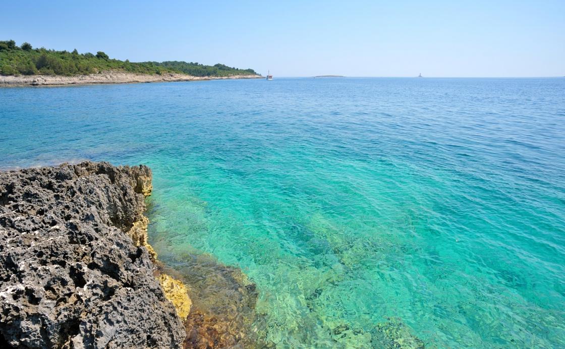 Pula Croatia Beach Wild Beach in Pula Croatia